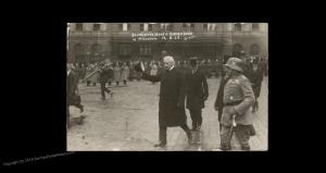 Germany 1925 General Hindenburg in Munich  RPPC 91745