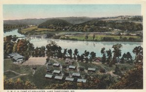 LAKE TANEYCOMO, Missouri, 1900-10s; Y.M.C.A. Camp at Hollister