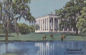Louisiana St Francisville Greenwood Buil 1832