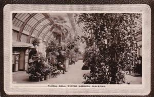 England Blackpool Floral Hall Winter Gardens 1912