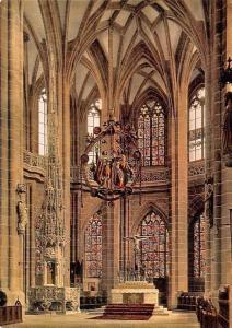 Nuernberg St. Lorenzkirche, Gotischer Hallenchor, Gothic Apse