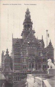 Exposition Universelle Bruxelles 1910 Pavillon Holllandais