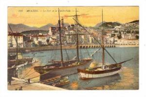 Le Port, Menton (Alpes-Maritimes), France, 1900-1910s