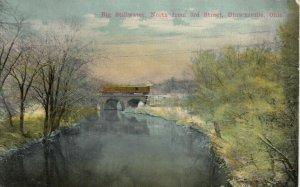 ULRICHSVILLE, Ohio, 1900-10s; Big Stillwater, North from 3rd Street