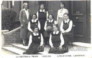 Leslie Cobb Lewisham College, London, UK Basketball Unused light crease right...