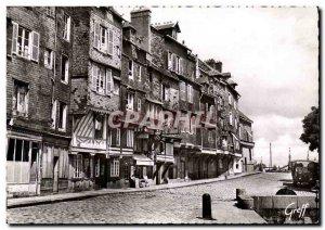 Modern Postcard Honfleur Quai Saint Etienne Old Houses