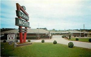 GA, Marietta, Georgia, Lamar Motel, Dexter No. 58588-B