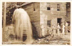 Tennessee Norris 18th Century Grist Mill Real Photo