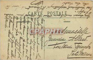 Old Postcard Montigny sur Loing The Bridge