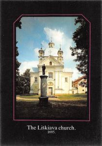 Lithuania The Liskiava Church Statue Eglise Kirche