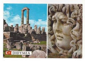 Turkey Didyma Temple of Apollo Medusa Head Didymea Ruins