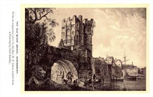 21656   British Isles  The Old Welsch Bridge Shrewsbury