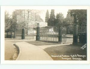 old rppc NICE VIEW Eugene Oregon OR i8641