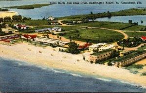 Florida St Petersburg Tides Hotel and Bath Club Reddington Beach Curteich