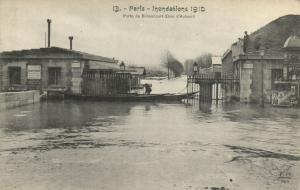 CPA PARIS 16e (Dep.75) - Porte de Billancourt (Quai d'Auteuil) (63827)