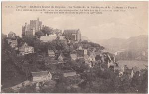 Chateau feodal de Beynac, La Vallee de la Dordogne et le Chateau de Fayrac
