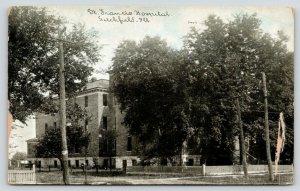 Litchfield IL~Mansard Roof~St Francis Hospital~Cool & Shady~1910 C U Williams