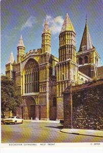West Front Rochester Cathedral Hastings England