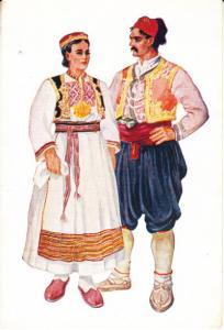 Dalmatia Costumes unused  Vladimir Kirin Artist