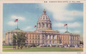 Minnesota Saint Paul Minnesota State Capitol 1944