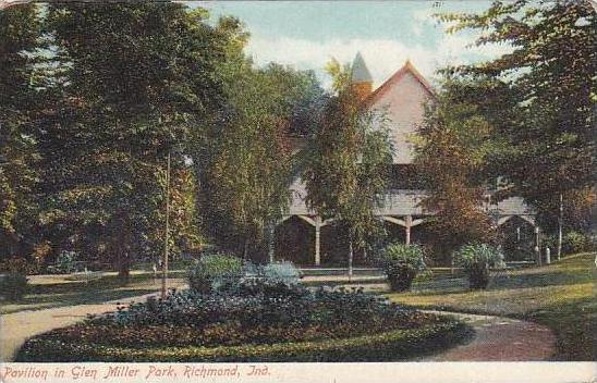 Indiana Richmond Pavilion In Glen Miller Park
