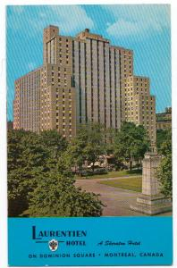 Laurentien Hotel, Montreal