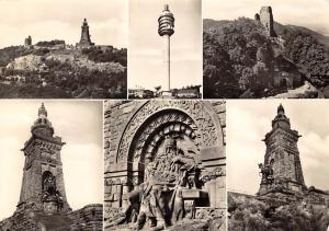 Kyffhaeuser Gebirge Denkmal Monument Statues Turm Tower