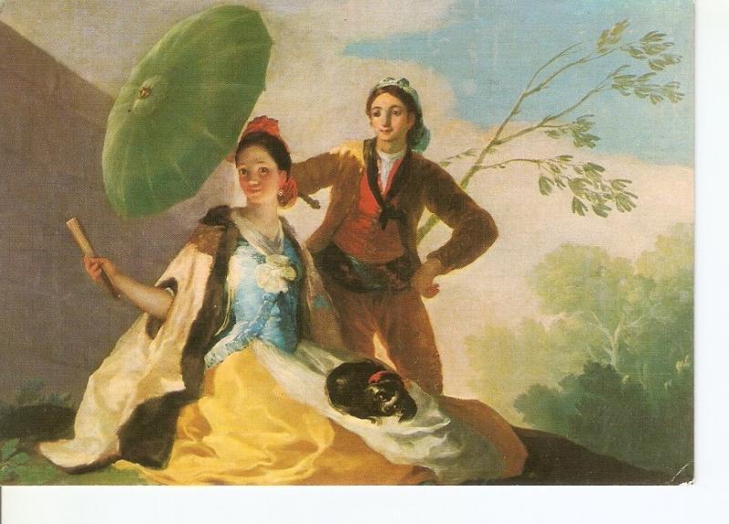 Postal 035321 : Museo del Prado. Madrid. El Quitasol. Goya