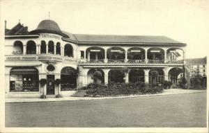 luxemburg luxembourg, MONDORF-LES-BAINS, Hôtel de Paris et Prince Jean (1930s)