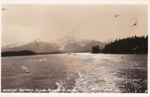 Alaska Wrangell Narrows Real Photo