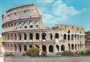 Italy Roma Rome Flavios Amphitheatre Colosseum