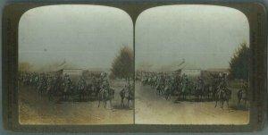 87494 - VINTAGE STEREOVIEW ----  SOUTH AFRICA: Boer War 1901