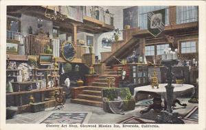 Cloister Art Shop Glenwood Mission Inn Riverside California
