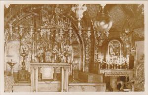 Jordan Interior Chapel Of Crucifiction Real Photo