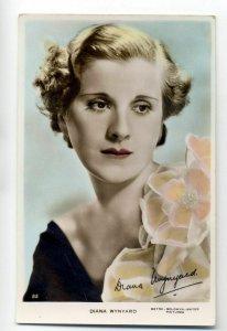 b3790 - Film Actress - Diana Wynard - postcard