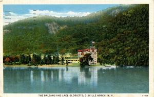 NH - Dixville Notch, The Balsams and Lake Gloriette