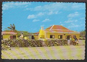 Canucu House Aruba Netherlands Antilles Postcard BIN