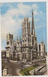 Hand Tinted RP: La Cathedrale, Rouen, Seine Maritime, France