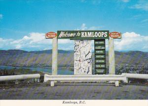 Welcome To Kamloops British Columbia Canada