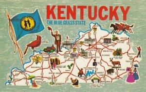 Map , Kentucky , 1960s