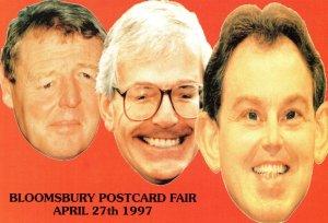 John Major 1997 Exhibition Conservative Party Advertising Postcard Fair