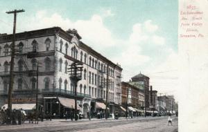 SCRANTON , Pennsylvania, 1901-07 ; Lackawanna Avenue, South from Valley House
