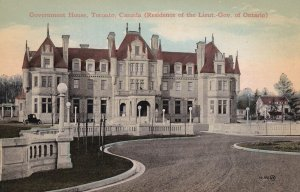 TORONTO, Ontario, Canada, 1900-1910s; Government House, Residence Of The Lieu...