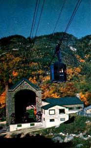 NH - Franconia Notch. Cannon Mountain (Aerial Lift)