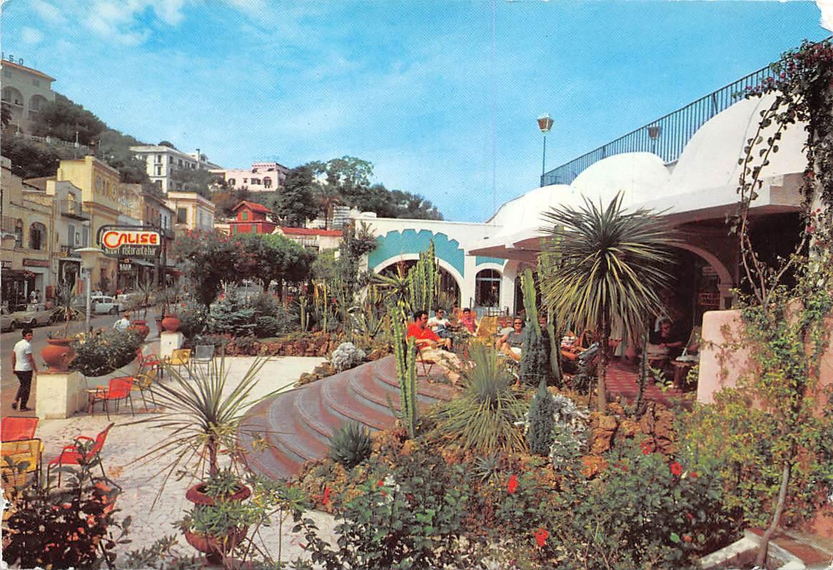 Italy Casamicciola Terme Square And El Caprico Night Club