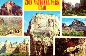 Utah Zion National Park Multi View