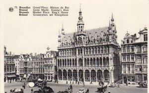 Belgium Brussels Grand' Place Maisons du Roi Photo
