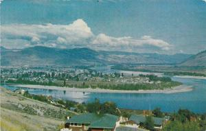 Junction Of The North and South Thompson Rivers, Kamloops, British Columbia, ...