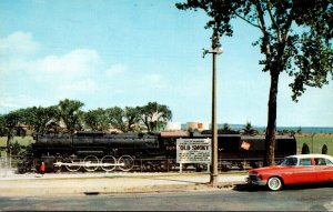 Wisconsin Milwaukee Steam Locomotive Exhibit Old Smoky