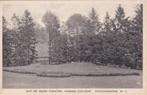 New York Poughkeepsie Out Of Door Theatre Vassar College Albertype